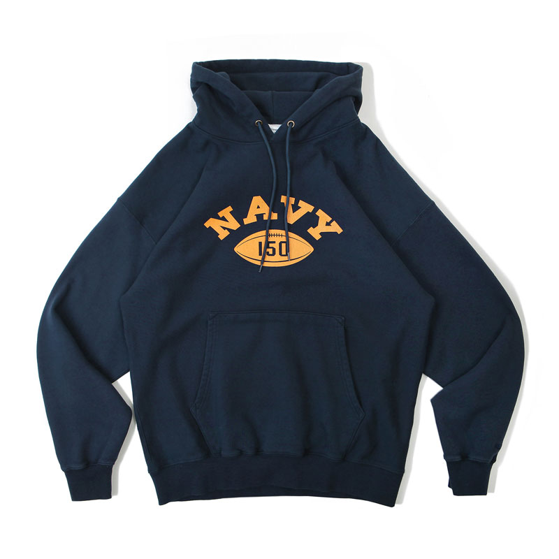 V.S.C HOOD SWEAT_NAVY150_NAVY 아웃스탠딩 컴퍼니V.S.C HOOD SWEAT_NAVY150_NAVY