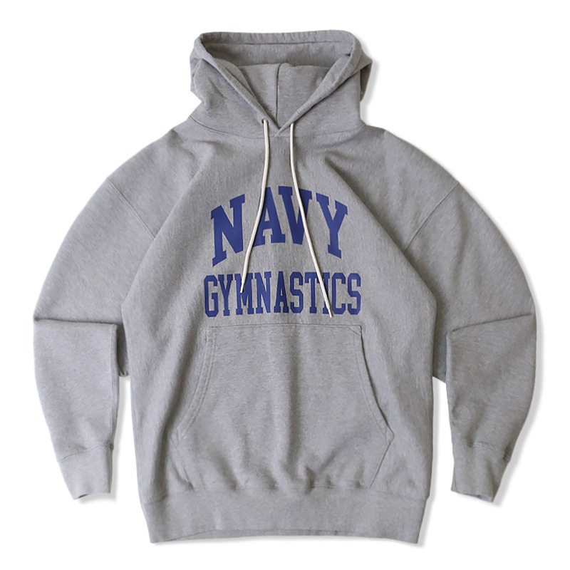 V.S.C HOOD SWEAT GYMNASTICS_8%MELANGE GRAY