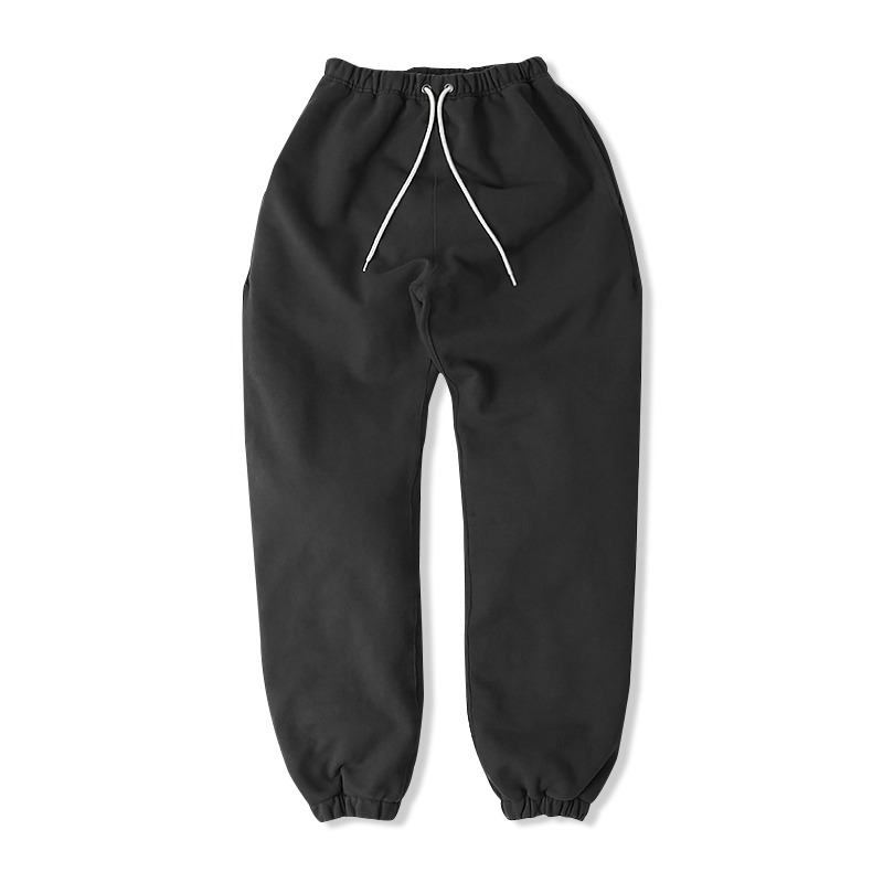 REVERSE HEAVY SWEAT PANTS _CHARCOAL