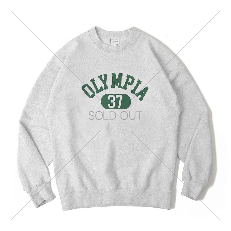 V.S.C SWEAT(OLYMPIA)_1% MELANGE GRAY 아웃스탠딩 컴퍼니V.S.C SWEAT(OLYMPIA)_1% MELANGE GRAY