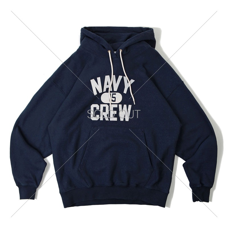 V.S.C HOOD SWEAT_NAVY CREW_NAVY 아웃스탠딩 컴퍼니V.S.C HOOD SWEAT_NAVY CREW_NAVY